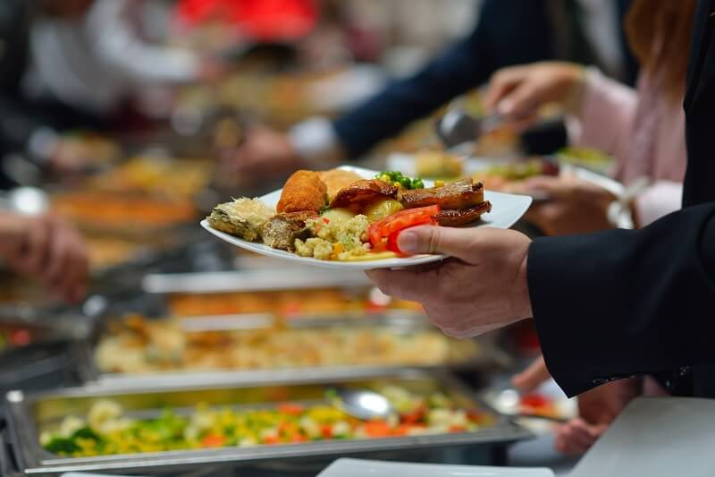 Office catering service